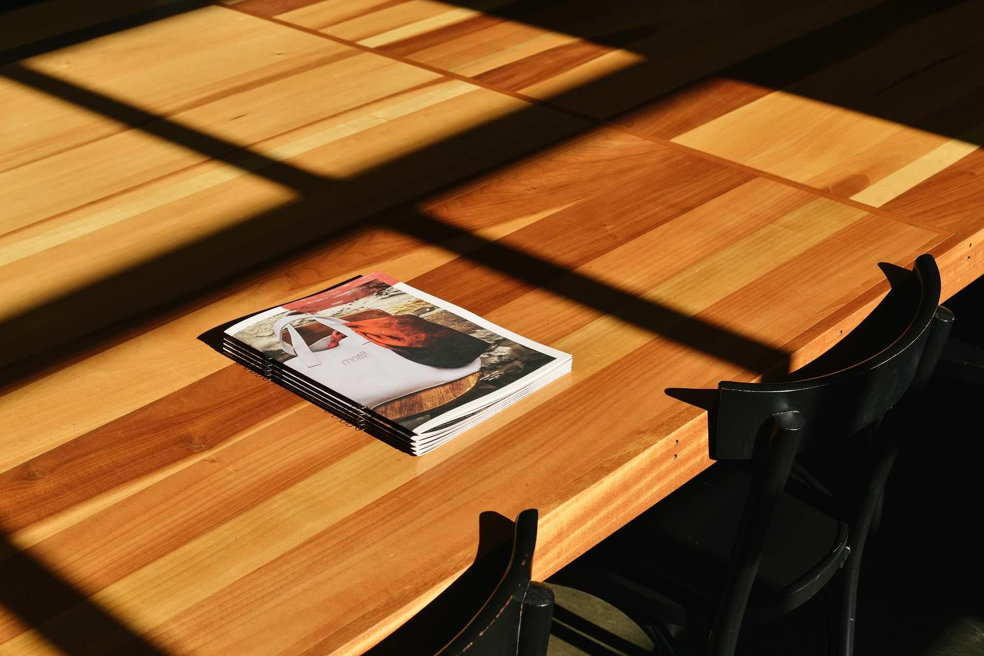 Gute Image-Broschüre für Vision, Mission, Werte und Philosophie Ihres Unternehmens