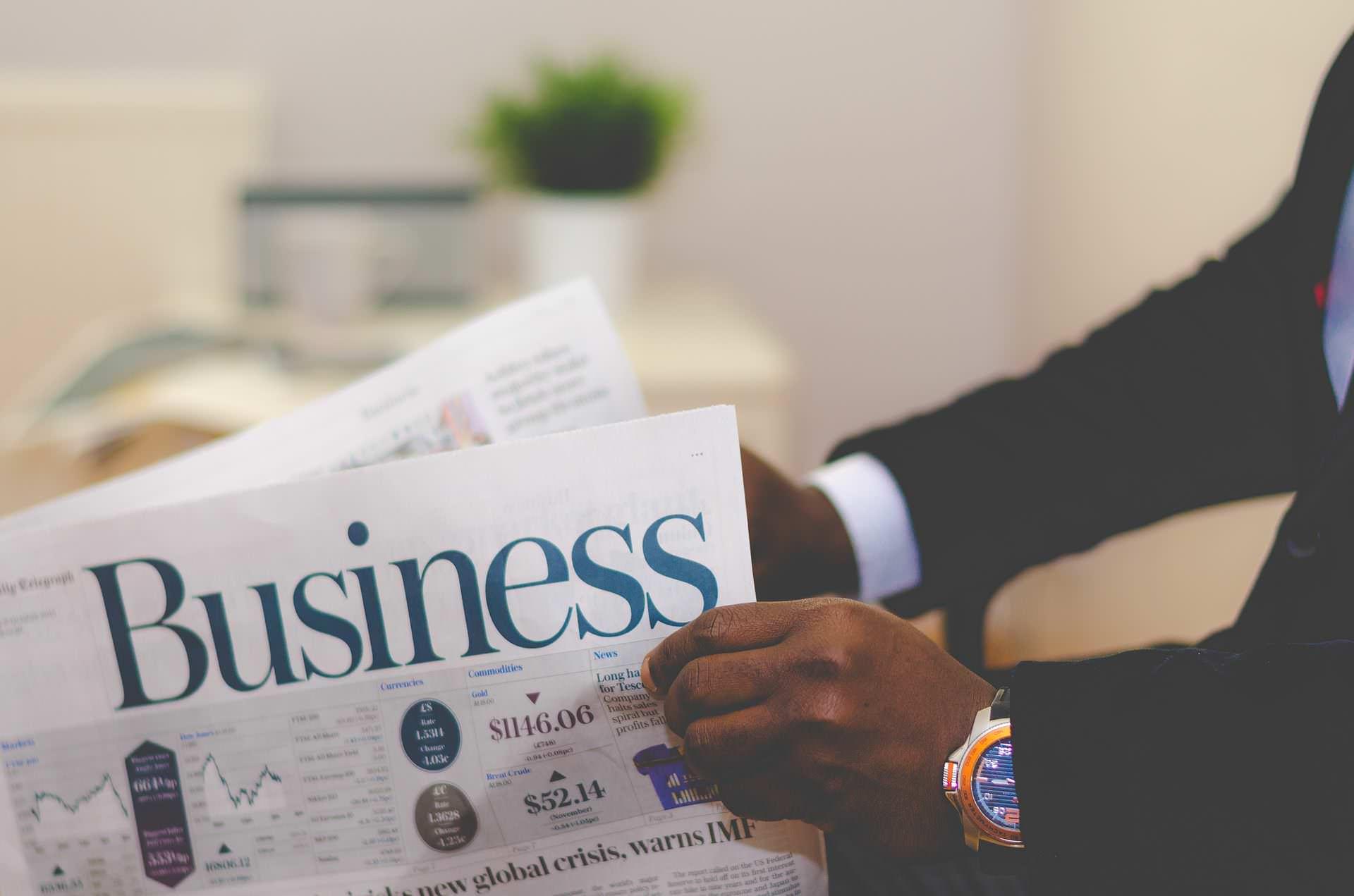 Business Zeitungs-Anzeige in Bad Krozingen, Staufen, Rottweil und Emmendingen